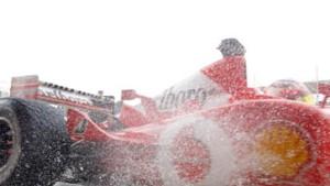 Ferrari-Dominanz im Regen: Schumacher Schnellster