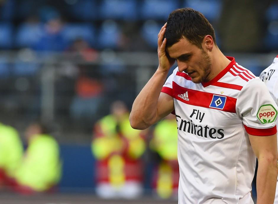 Filip Kostic war die tragische Figur beim Hamburger SV.
