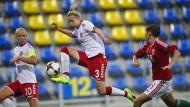 Derzeit außer Diensten: Die dänischen Fußballerinnen streiken