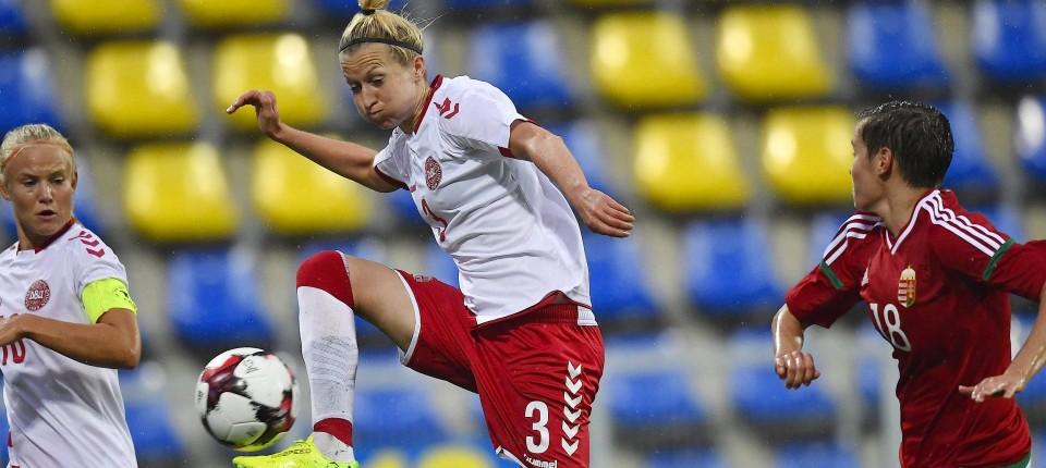 Danen Sagen Frauenfussball Qualifikationsspiel Ab
