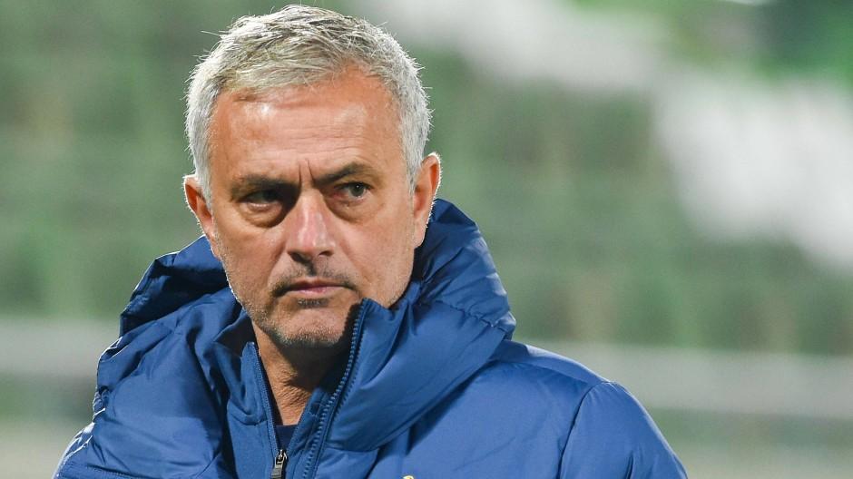 Derzeit Spitze: Tottenham mit Trainer José Mourinho