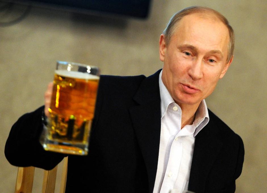 Finnish brewery launches Trump-Putin beer ahead of summit ... |Putin Beer