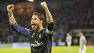 Dem Meistertitel ganz nah: Real Madrid mit Sergio Ramos