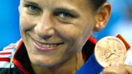 Die Retterin in Athen 2004: Judokämpferin Julia Matijass gewann damals die erste Medaille für das deutsche Team.