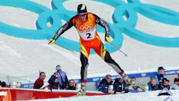 Johann Mühlegg gewinnt Gold für Spanien