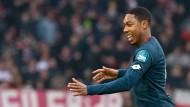 Mainzer Frohsinn: Jean-Paul Boetius hat die Führung für Mainz 05 beim VfB Stuttgart erzielt.