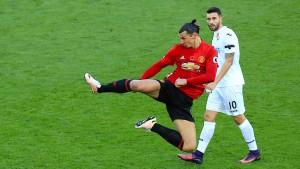 Das historische Tor des Zlatan Ibrahimovic