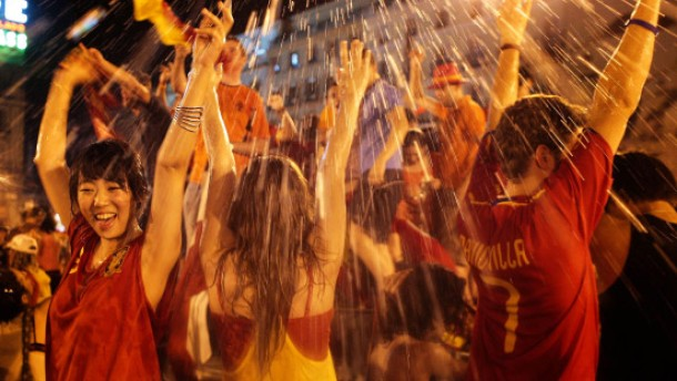 Fiesta dank Iniesta