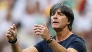 """""""Wir werden unsere Lehren daraus ziehen und es beim nächsten Male besser machen"""": Bundestrainer Joachim Löw."""