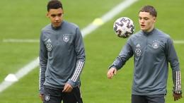 Die beiden deutschen Freestyle-Fußballer