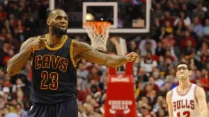 James führt Cleveland zum Sieg in der Serie