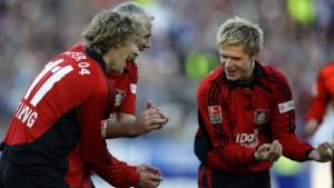 Leverkusen kann Führung nicht halten