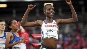 Läuferin Agnes Tirop tot aufgefunden