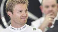 Sportlich läuft es derzeit: Nico Rosberg ist Formel-1-Spitzenreiter.