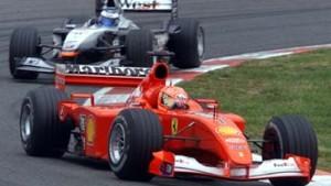 Schumacher in der deutschen Zange