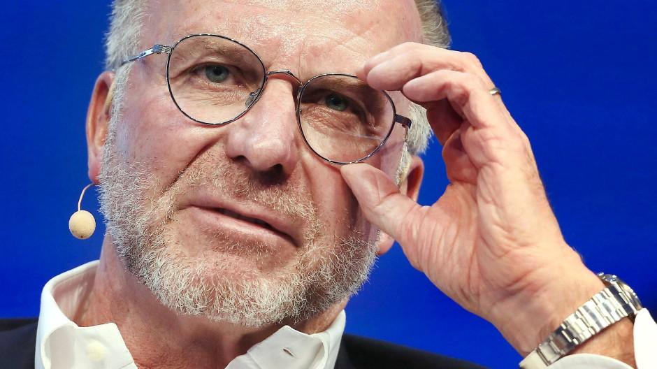 Schwergewicht unter den deutschen Fußball-Funktionären: Karl-Heinz Rummenigge