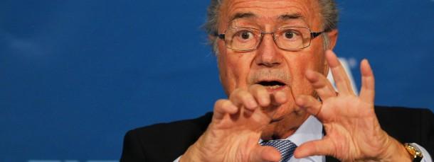 Der Boss kann feixen: Fifa-Präsident Blatter verhöhnt seine Gegner