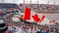 Keine Neuauflage: Ein Bild von den Olympischen Spielen 1988 in Calgary.