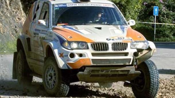Kleinschmidts BMW X3 fing Feuer
