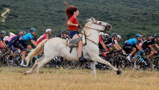 Mit dem Pferd zur Tour de France