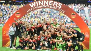 Fußballfrauen sind wieder Europameister