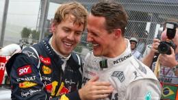 Vettel spricht über Mick und Michael Schumacher