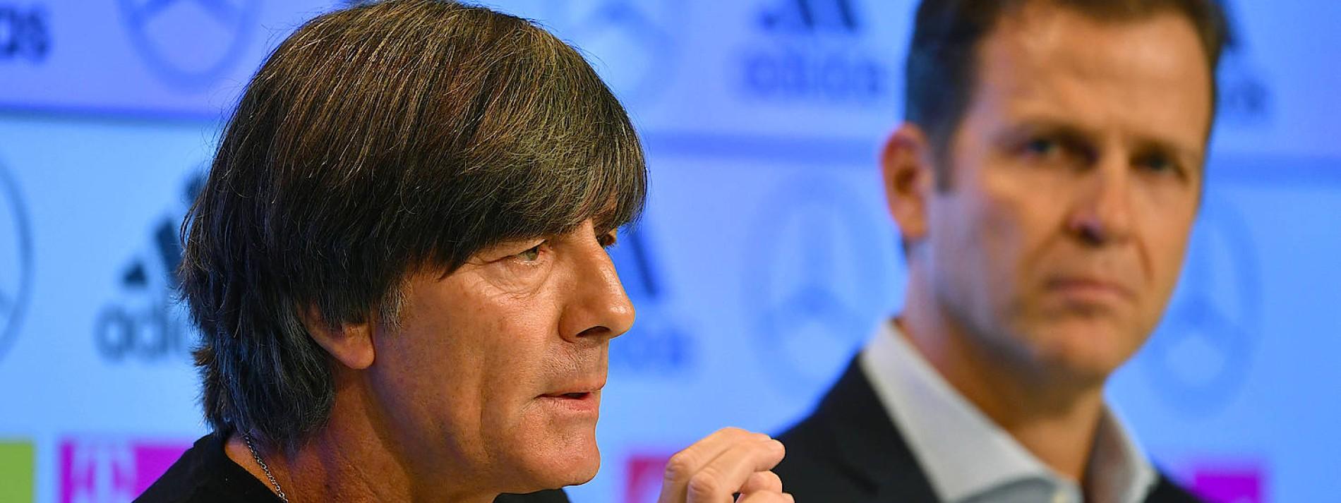 Union-Chef fordert Rücktritt von Löw und Bierhoff