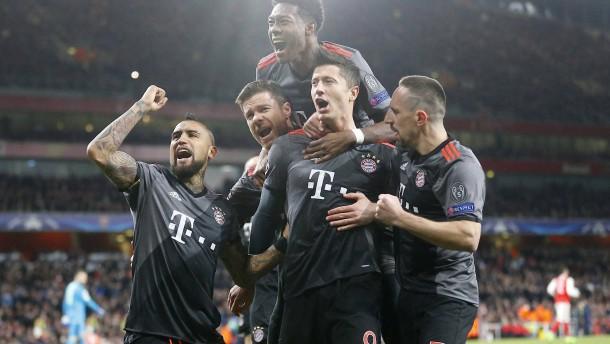 Bayern deklassieren Arsenal