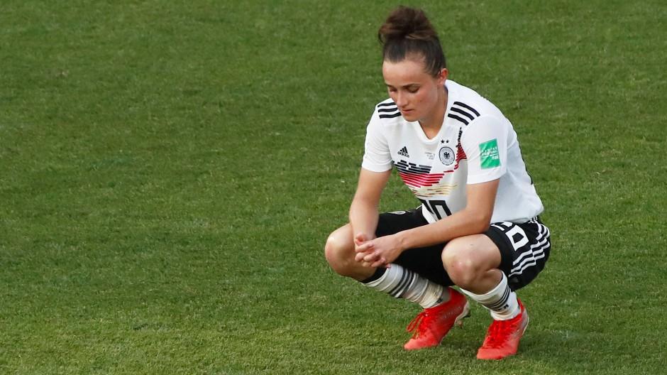 Nicht nur Lina Magull hatte am deutschen WM-Aus zu knabbern.