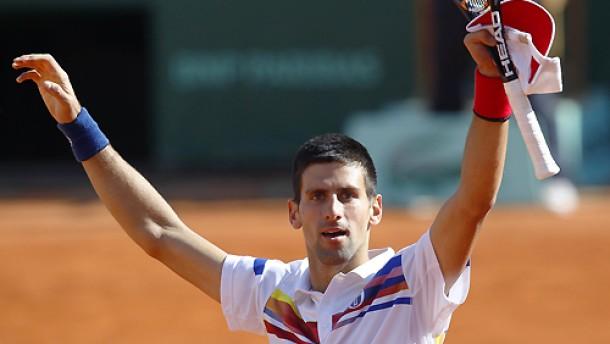 Djokovic kampflos im Halbfinale