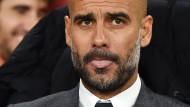 Guardiola ohne Erklärung für die Bayern-Niederlage