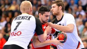 Starke Steigerung der deutschen Handballer