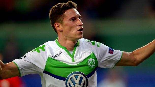Wolfsburg gewinnt dank Draxler