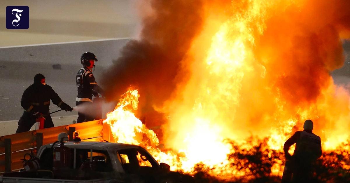 """Feuer-Unfall in der Formel 1: """"Sonst könnte ich jetzt nicht zu euch sprechen"""""""