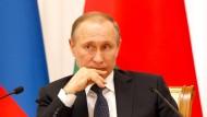 """""""Uns tut das natürlich leid. Aber man darf die Situation nicht auf den gesamten russischen Sport übertragen"""", lässt ein Sprecher von Wladimir Putin ausrichten."""