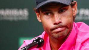 Die emotionale Absage des Rafael Nadal