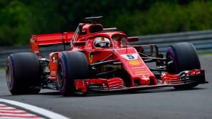 Vettel vor heißem Tanz