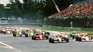 1990: Alain Prost startet im Ferrari von Platz 13 – und gewinnt