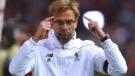 """""""Villarreal ist nicht so weit gekommen, weil die Gegner alle nicht Fußball spielen konnten"""": Liverpool-Trainer Jürgen Klopp."""