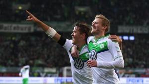 Wolfsburg ist wieder in Torlaune