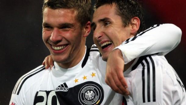Der neue Podolski führte Deutschland zum 4:0-Sieg