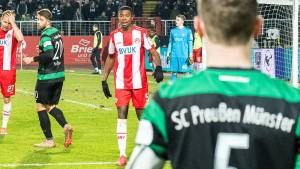 Fans in Münster setzen Zeichen gegen Rassismus