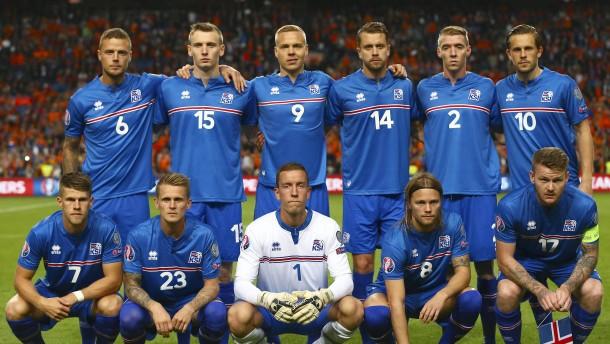 isländische mannschaft