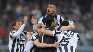 Juventus feiert den Titel – und freut sich auf Real