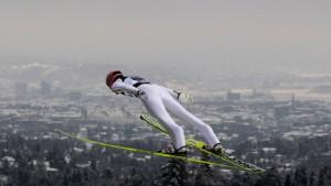 Deutsche Skispringer gewinnen Bronze im Team