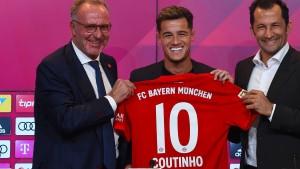 Das große Glück des FC Bayern mit Coutinho