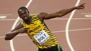 Usain Bolt Weltmeister über 100 Meter