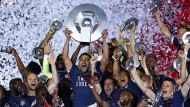 Französischer Meister: AS Monaco feiert Party in Monte Carlo