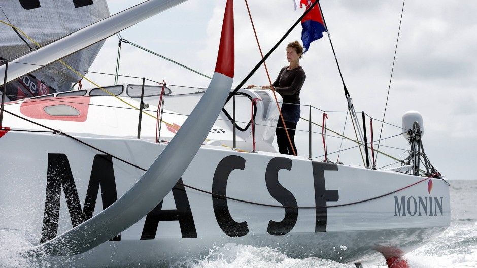Aus und vorbei: Isabelle Joschke muss bei der Vendée Globe aufgeben. (Bild aus dem Juli 2020)
