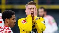 Ärgerlich: Marco Reus verschoss einen Foulelfmeter.
